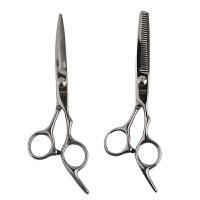 【当当自营】雷瓦(RIWA) 专业理发器工具平剪牙剪 不锈钢剪刀牙剪 RD-201 RD-202