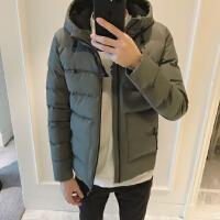 男士外套冬季2017新款棉袄潮流韩版短款棉服帅气男装冬装百搭棉衣