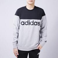 Adidas阿迪达斯 男子 保暖圆领卫衣 运动套头衫AZ8348