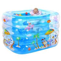 【支持礼品卡】婴儿游泳池充气保温婴幼儿童宝宝游泳桶家用洗澡桶新生儿浴盆q3p