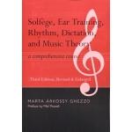 【预订】Solfege, Ear Training, Rhythm, Dictation, and Music The