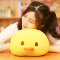 软软小鸡布偶抱着睡觉的娃娃男生长条暖手捂抱枕公仔少女心玩偶