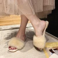 户外时尚女士单鞋拖鞋休闲舒适平底鞋软底百搭女鞋