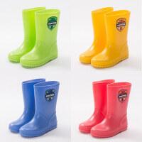 KK树新款儿童雨鞋男童女童卡通雨鞋小孩防滑中筒雨靴夏季宝宝水鞋e4u