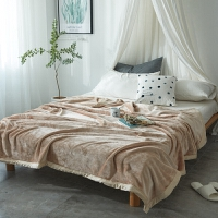珊瑚绒毛毯盖毯加厚空调毯子云貂绒学生宿舍单人午睡毯法兰绒毛毯