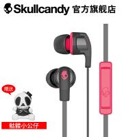 【当当自营】SKULLCANDY SMOKIN BUD 2(烟斗)手机线控带麦入耳式耳机 红黑色