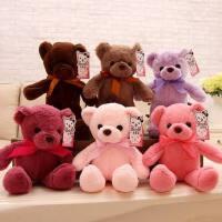 小号泰迪熊公仔布娃娃机毛绒玩具批发迷你小熊公仔抱抱熊玩偶女生