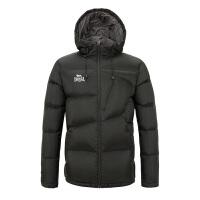 秋冬新款户外加厚短款羽绒服男立领连帽简约休闲保暖外套