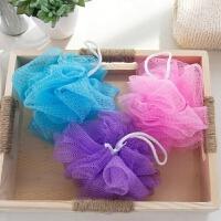洗澡沐浴球浴花搓澡搓背婴儿儿童浴擦起泡网澡花洗浴用品 颜色随机发