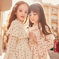 女童连衣裙中大童儿童装小女孩公主裙子