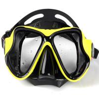 户外潜水镜浮潜防雾面镜全干呼吸管套装 深潜自由潜装备