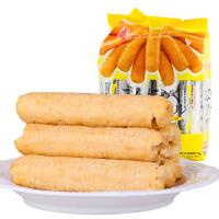 北田能量99糙米卷玄米口�X�m卵黄味160g 台湾进口零食品 夹心米卷