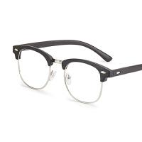 眼镜男女防蓝光电脑护目镜无度数眼镜平光镜近视眼镜框韩版