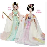 嫦娥奔月和9059龙女经典神话组合古装女孩洋娃娃礼物