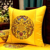 沙发垫新中式古典实木家具圈椅垫加厚防滑罗汉床海绵座垫定制