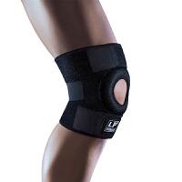 LP欧比护膝高效髌骨释压型膝护套758CA 登山网排篮羽毛球运动护具 单只