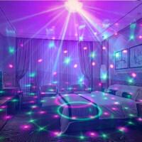 星空灯投影仪满天星创意卧室浪漫旋转七彩梦幻夜空星光灯带音乐灯 充电款 蓝牙版(1 米充电线)