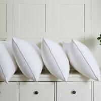 五星级酒店全棉护颈枕单人学生枕芯装家用枕头一对拍2
