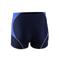 YINGFA英发 男士拼色休闲平角泳裤Y3011 沙滩训练速干系带泳裤