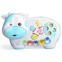 益智早教儿童玩具电子琴 灯光动物音乐琴多功能乐器玩具