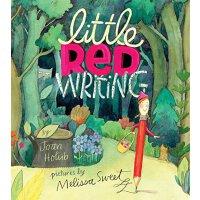 【现货】英文原版 小红铅笔 Little Red Writing 5-8岁儿童趣味写作启蒙 小红帽故事再创作 凯迪克奖作