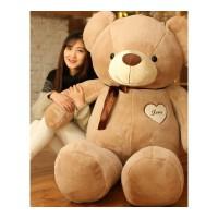 熊毛绒玩具女生2米狗熊玩偶可爱大号熊猫萌公仔韩国抱抱熊送女友