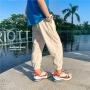 【2件2折】左西童装男童裤子夏装儿童防蚊裤薄款运动裤中大童男孩2021新款潮