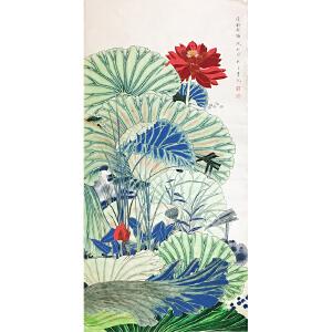 莫晓松《工笔花鸟》著名画家