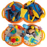 儿童维修工具箱女孩做饭厨房玩具宝宝厨具餐具过家家套装