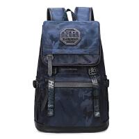 智尔娜 高中大学生书包新款双肩包韩版个性潮流休闲旅行背包时尚电脑包