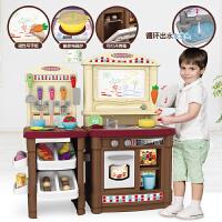 儿童厨房玩具套装过家家仿真厨具做饭女孩3-6岁