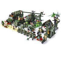 20180717140517194启蒙乐高积木男孩子军事系列6儿童益智拼装玩具坦克8-10岁12礼物