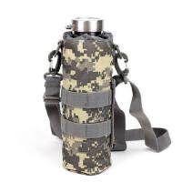 户外登山水壶收纳包运动骑行旅行包可腰挂牛津布水杯包带背带MOLLE隔热水壶套