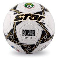 Star世达 足球SB415 PU耐磨手缝足球 5号 经典比赛足球