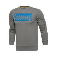 李宁2016新款男装运动生活系列收口运动卫衣套头衫AWDL131