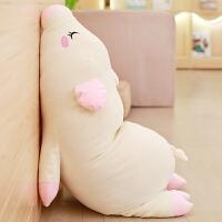 趴趴猪毛绒可爱粉毛绒玩具大号可爱睡觉抱枕女孩布娃娃少女心公仔