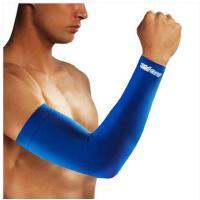 臂套加长时尚防滑透气篮球运动护腕袖套男女冰丝弹力加长护臂透气吸汗护肘