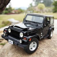 1:18仿真jeep吉普牧马人撒哈拉合金汽车模型