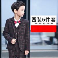 韩版花童小西装外套宝宝演出西服秋装冬 儿童西装男童礼服套装童装