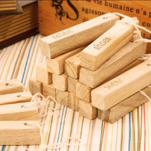 【年货节】欧润哲 家居衣柜除味香樟木条樟木块套装 多功能除异味樟木片可挂 代樟脑丸