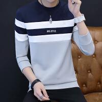 秋冬季男士套头圆领卫衣韩版青少年长袖运动上衣学生T恤衫休闲潮