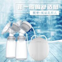 双边电动吸奶器吸乳挤奶器吸力大自动按摩产后催乳器e9v