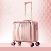 小型拉杆箱小行李箱女迷你旅行箱万向轮密码箱男皮箱子登机箱16寸 16寸