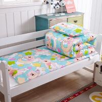 卡通儿童宝宝幼儿园床垫套 被罩被套单件冬季 枕套一只