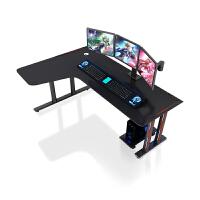 转角台式电脑桌电竞桌椅套装游戏用工作台简约书桌家用卧室大桌子