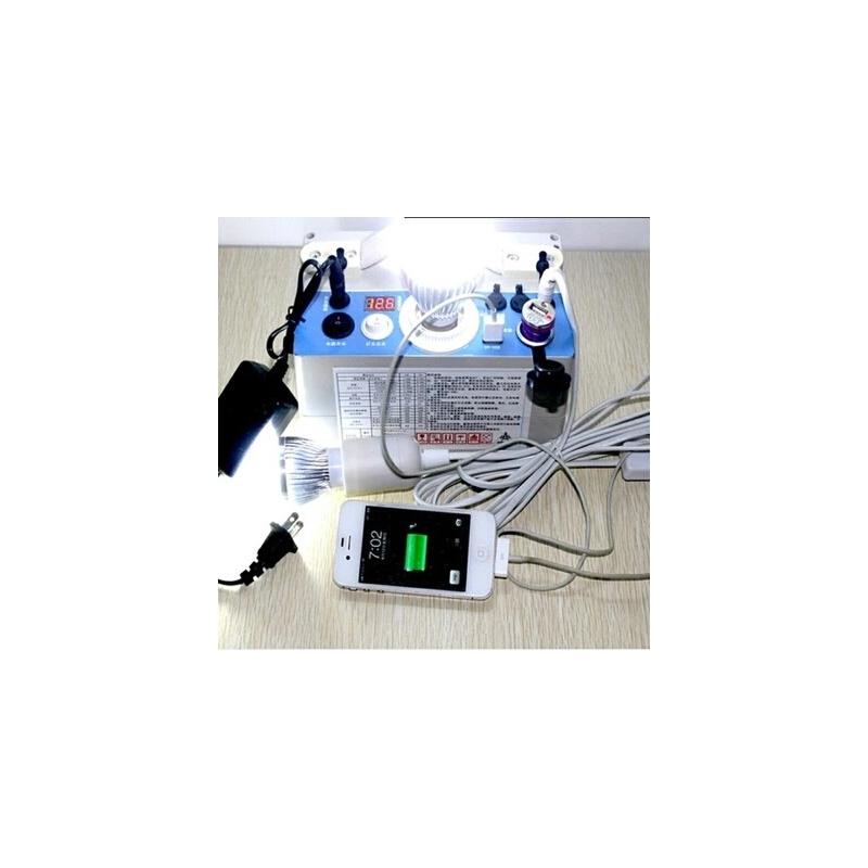 12V蓄电池充电瓶地摊夜市灯LED照明户外露营手提电筒应急移动电源 9AH 9瓦3灯全套装 发货周期:一般在付款后2-90天左右发货,具体发货时间请以与客服协商的时间为准