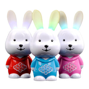 【领券立减50元】米米智玩 乖乖兔儿童故事机可下载充电 婴幼儿童mp3益智玩具早教机活动专属