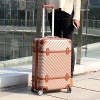 七夕礼物复古行李箱万向轮24寸韩版28寸旅行箱男20寸登机箱子拉杆箱女学生