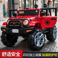 四轮越野车四驱玩具遥控汽车可坐大人宝宝带摇摆双人车