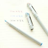 斑马日本文具 BE-100中性笔 经典办公签字笔水笔针管型0.5mm